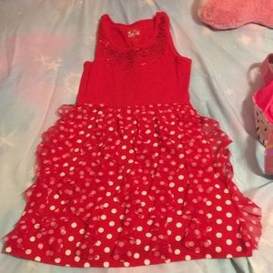 A red justice dress